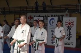 Mistrzostwa Polski Północnej Polskiej Federacji Kyokushin Karate-Złocieniec 30.03.2019 r