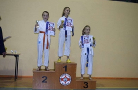 Mistrzostwa woj. zachodniopomorskiego PFK Kyokushin Karate Złocieniec 18.11.2017