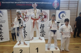 Mistrzostwa Województwa zachodniopomorskiego Kyokushin karate Międzyzdroje 26.10.2019