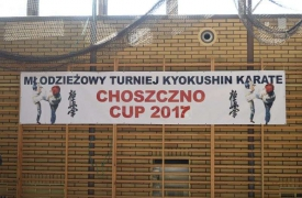 MŁODZIEŻOWY TURNIEJ KARATE CHOSZCZNO CUP 2017
